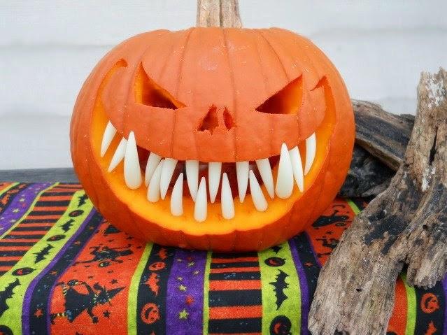Pumpkin with Teeth