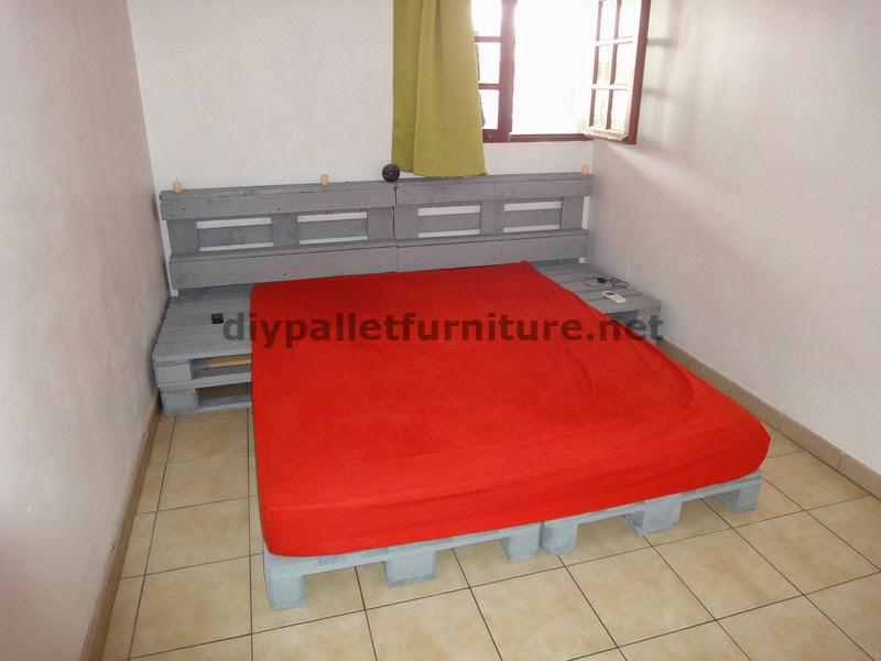 Instrucciones de como hacer una cama con palets - Camas con palets ...