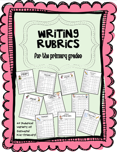 creative writing rubric 8th grade