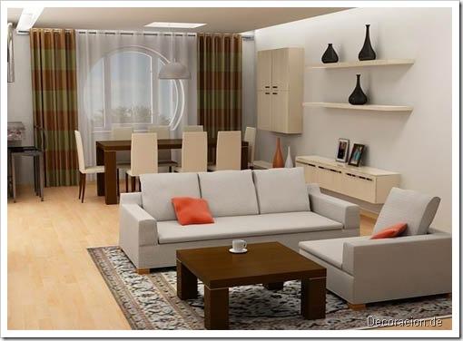 Vintage home: salas modernas