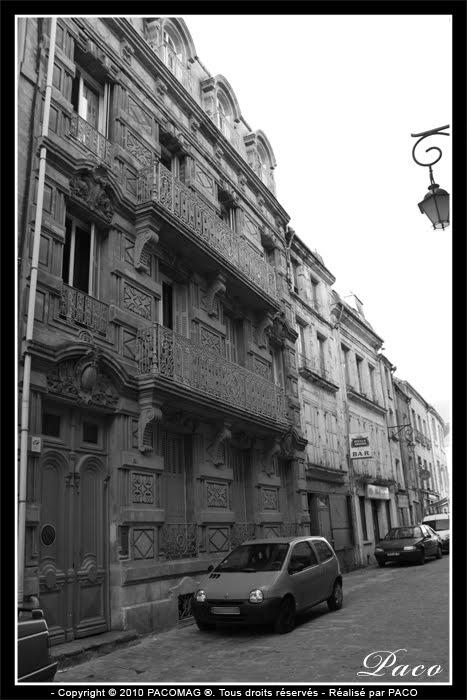 maison Rozoy rue Sainte-Barbe ville de Sedan