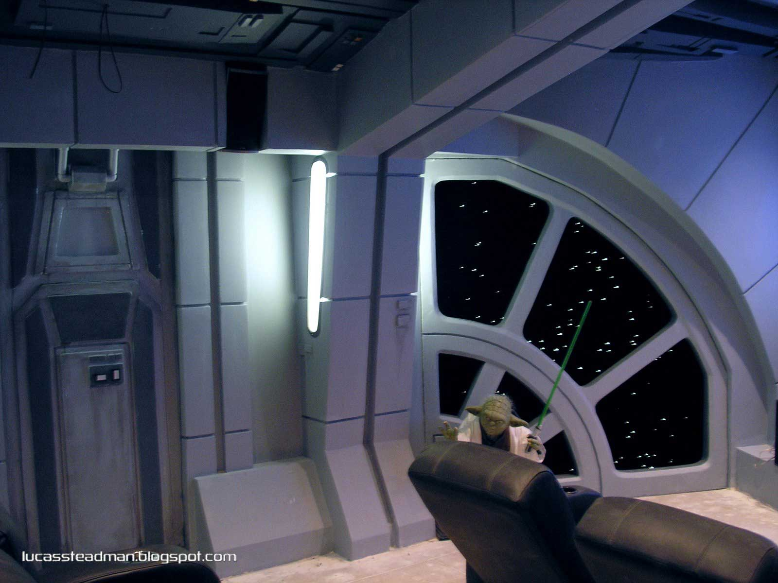 Luc steadman design and art direction star wars home theater