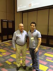 Con Jaime Bernal Cuellar