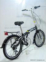 4 Sepeda Lipat PACIFIC Alloy Frame 7 Speed Shimano 20 Inci