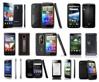 Smartphones : Android largement devant iOS, RIM en difficulté
