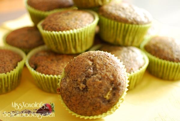 Rhabarber-Mohn-Muffins