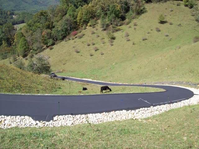 how to make a steep driveway less steep