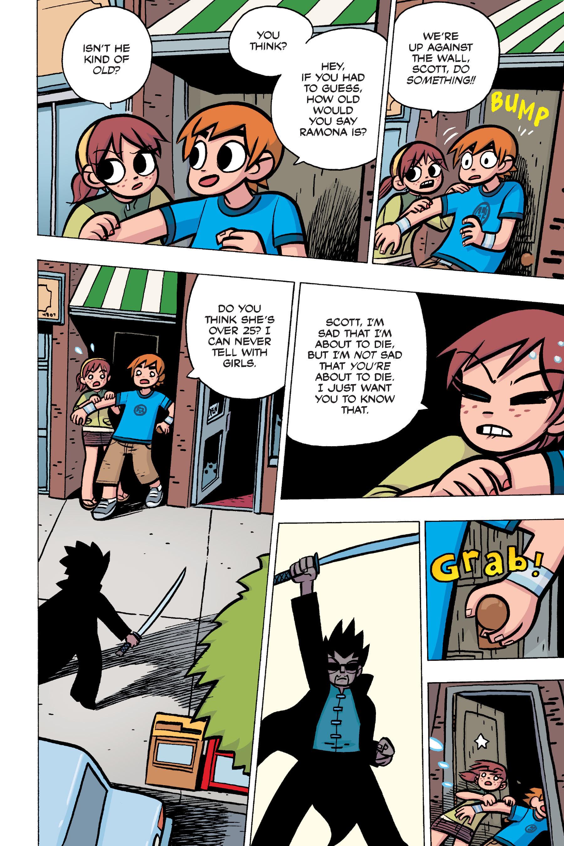 Read online Scott Pilgrim comic -  Issue #4 - 69