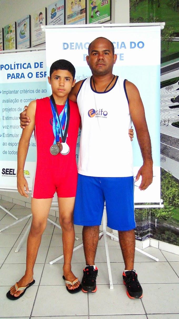 Avança o Esporte no RN: Atleta potiguar de 15 anos é vice-campeão de Luta Olímpica na etapa nacional