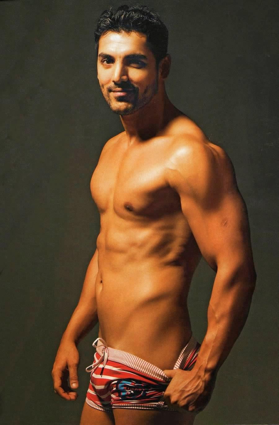 john abraham s naked body
