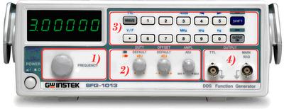Bloques, Partes, Generador de Funciones, Electrónica