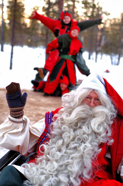 Did you know that Lapland is the home to Father Christmas?