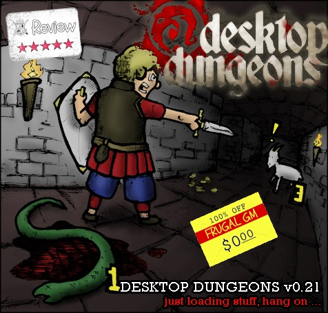 Frugal GM Review: Desktop Dungeons