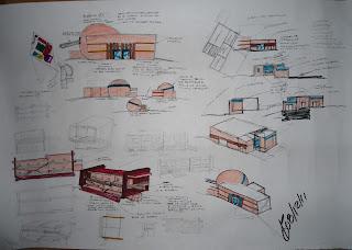 Proceso De Dise O Arquitectonico De Centro Cultural