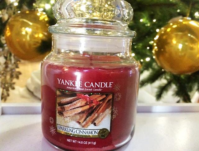 avis Sparkling Cinnamon yankee candle