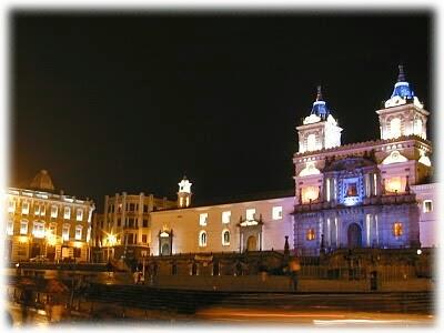 Quito colonial, Ecuador