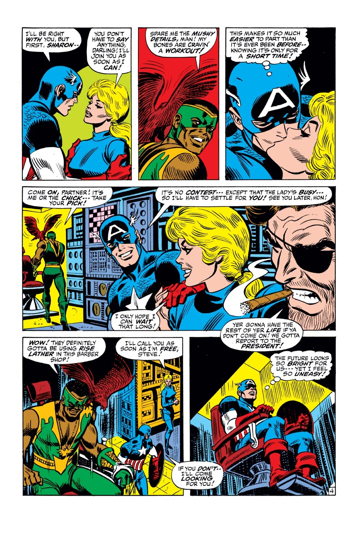 Captain America (1968) Issue #143 #57 - English 5