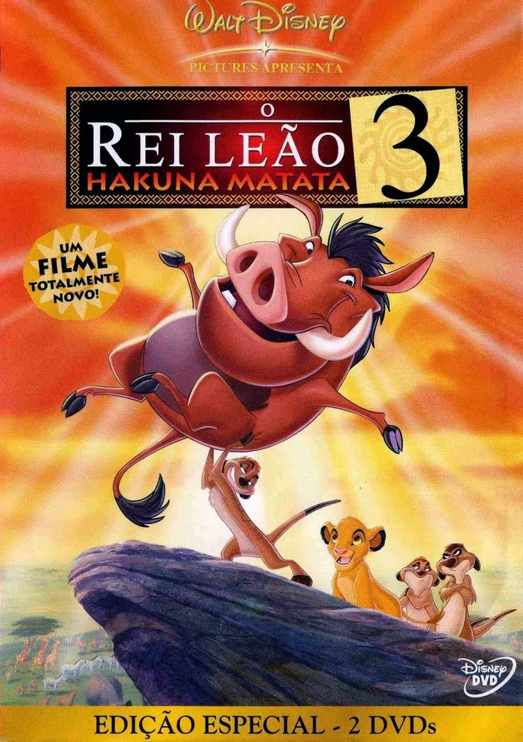 O Rei Leão 3: Hakuna Matata – Dublado (2004)