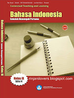 Buku BSE Bahasa Indonesia, BSE Bahasa Indonesia, Buku BSE, Bahasa Indonesia, Buku Sekolah Elektronik, BSE, Buku bahasa Indonesia SMP, Contextual Teaching and Learning Bahasa Indonesia Kelas IX