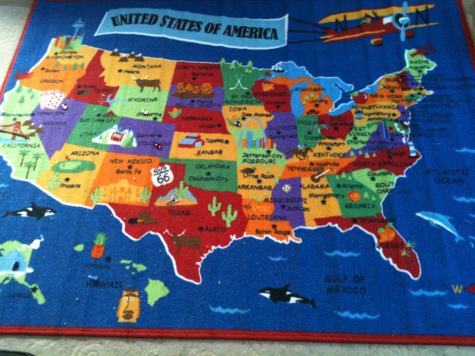 please tell us about your state