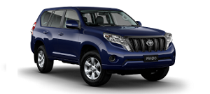 Toyota prado 2014 xanh dương
