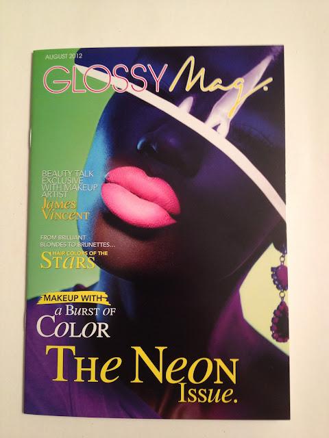 August Glossybox Magazine