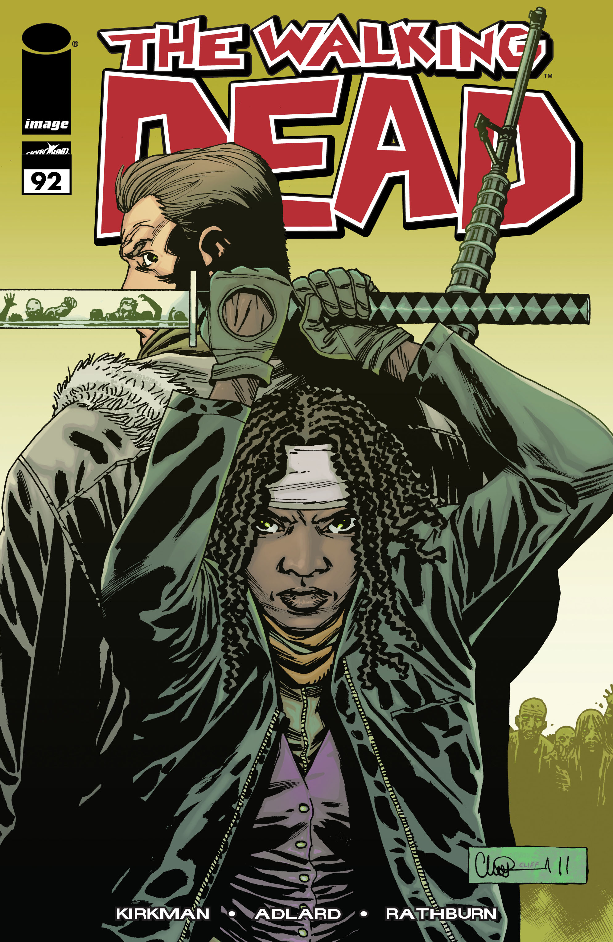 The Walking Dead Issue #92 Page 1