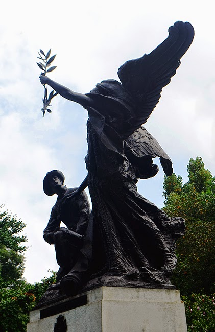 Piedmont Park History Tour, Angel of Peace