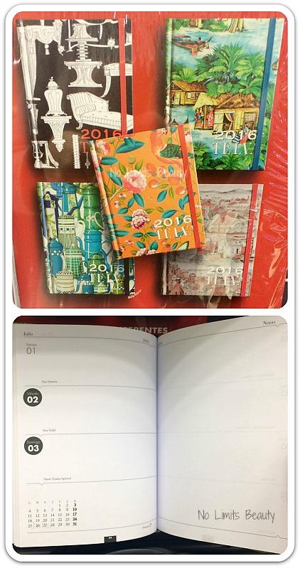 Regalos revistas enero 2016: Telva (agenda)