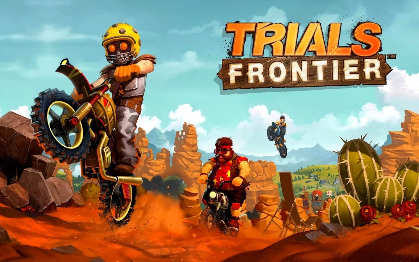 Trials Frontier v2.0.3 Mod [Unlimited Money]