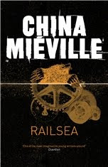 Railsea by China Miéville UK cover