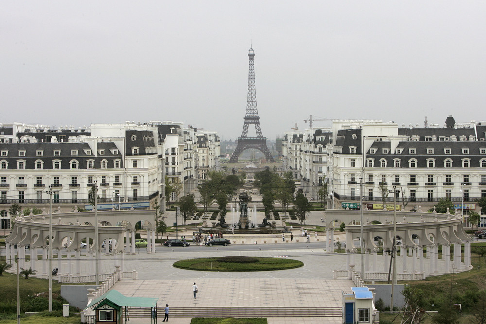 deserted places a parisian ghost town in the middle of china
