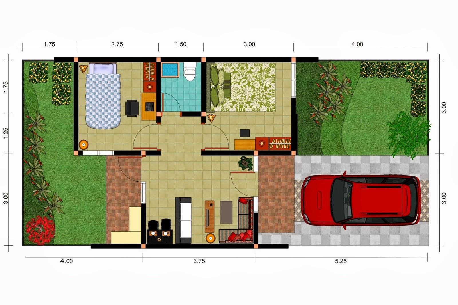 ... inspirasi untuk merancang rumah idaman anda denah rumah minimalis