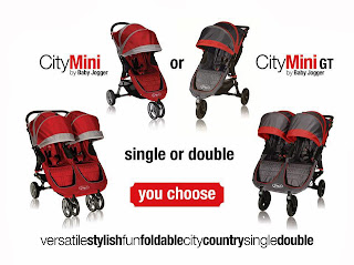 Baby Jogger City Mini Giveaway