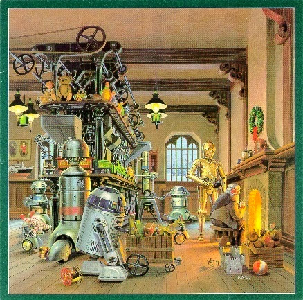 1980 lucasfilm christmas card