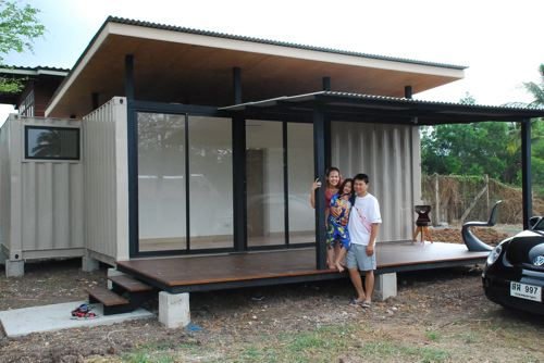 Shipping container homes bluebrown container home thailand for Container home designs australia