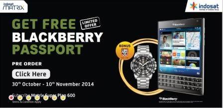 BlackBerry Passport sudah bisa dipesan di Indonesia dengan harga 9,5 juta-an