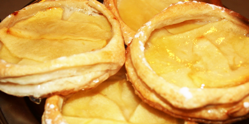 recetas Tartaletas de Manzanas