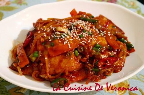 La Cuisine De Veronica Eomuk Bokkeum