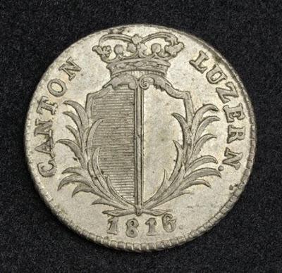Swiss Coins 5 Batzen Silver Coin money currency