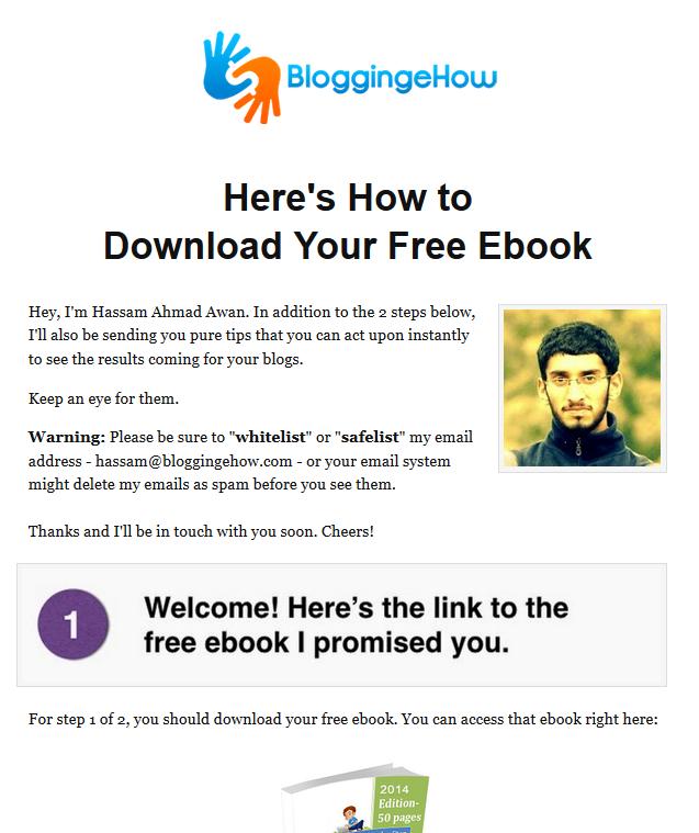 download page bloggingehow re designed