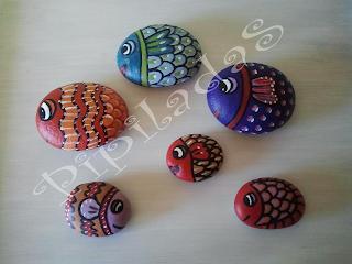 Pipiladas piedra peces