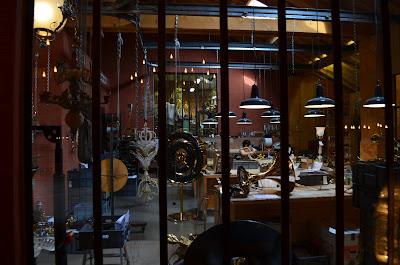 A peek inside the workshop at Mathieu Lustrerie