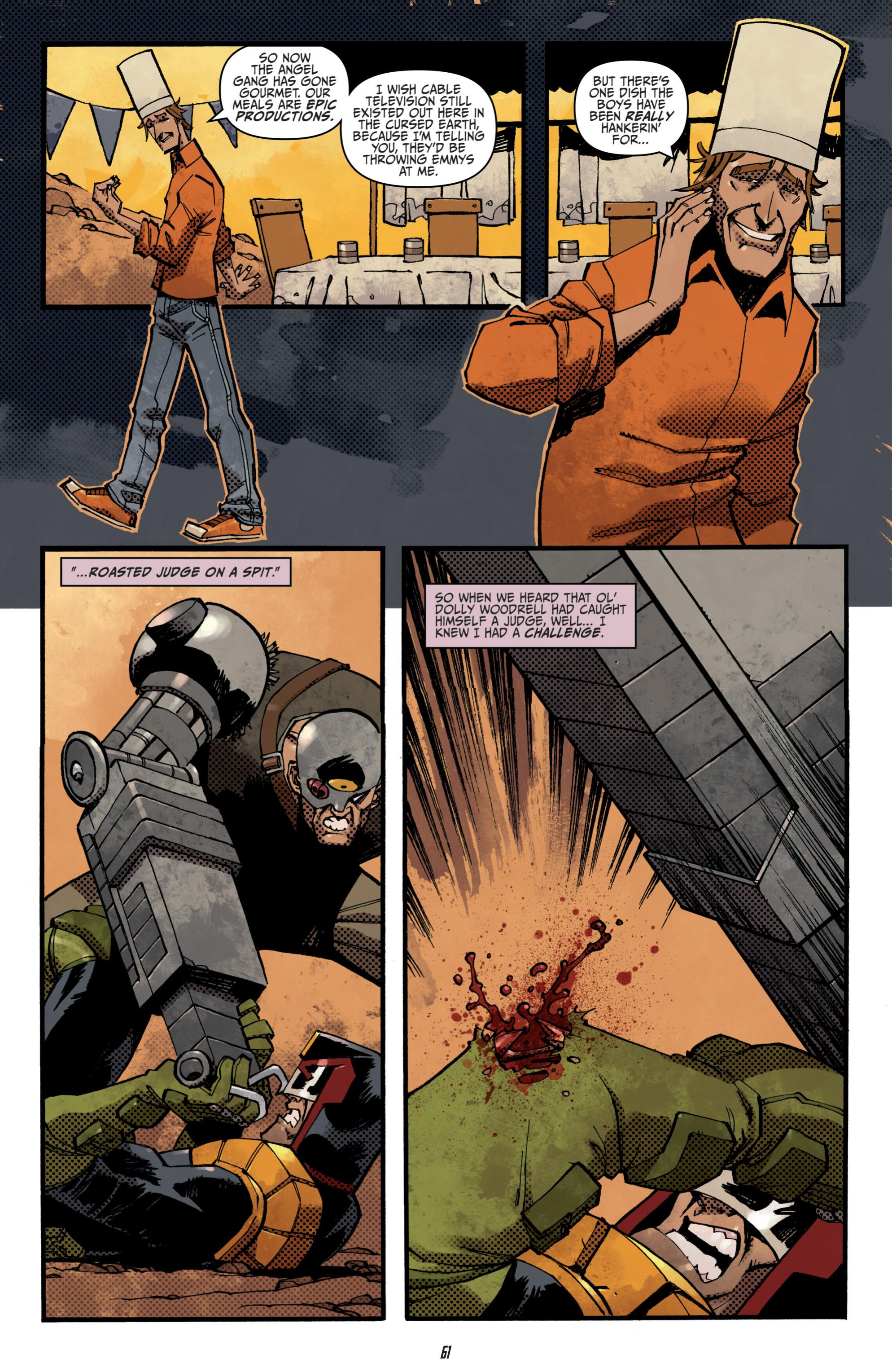 Read online Judge Dredd (2012) comic -  Issue # _TPB 3 - 61