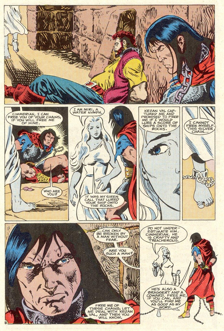 Conan the Barbarian (1970) Issue #186 #198 - English 9