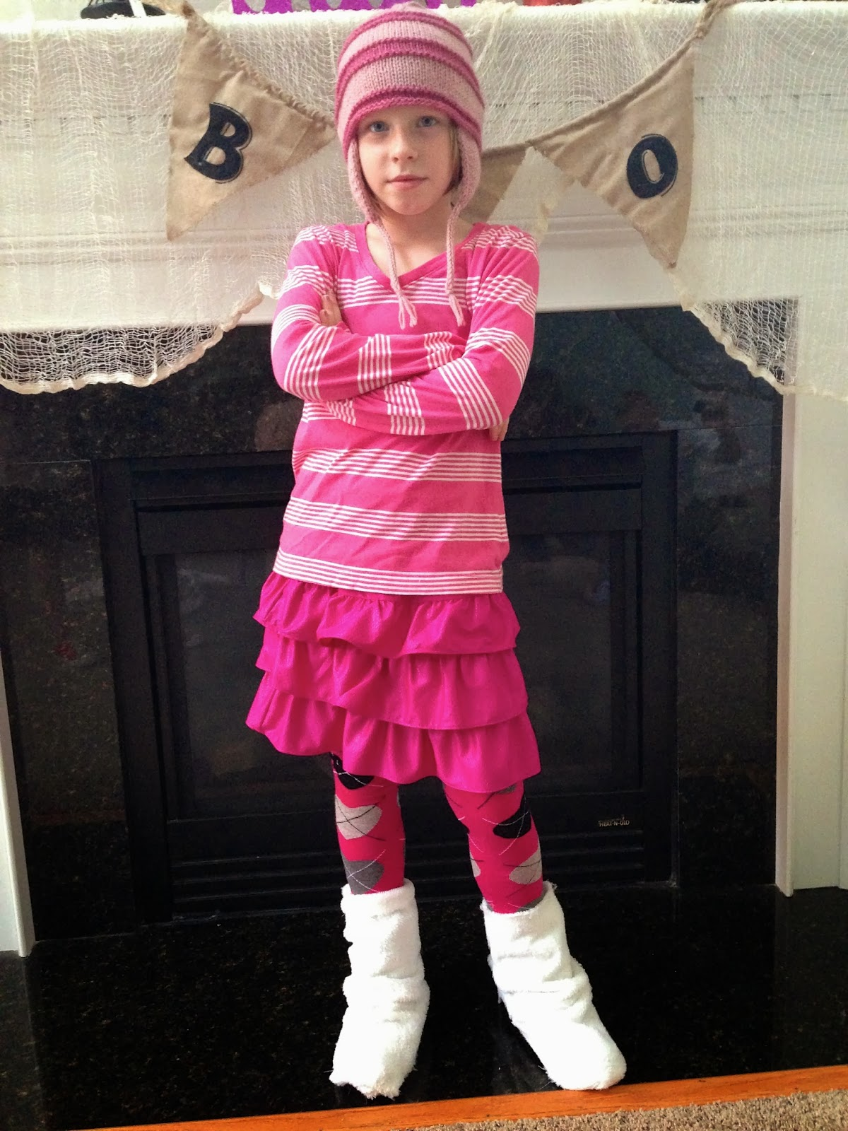 Lorien as Edith. A total tomboy yet loves pink. She REALLY got into her part.  sc 1 st  the Krazy Kingdom & Welcome to the Krazy Kingdom: Halloween Costumes