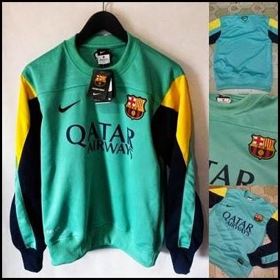 Sweater GO Barcelona Biru Navy