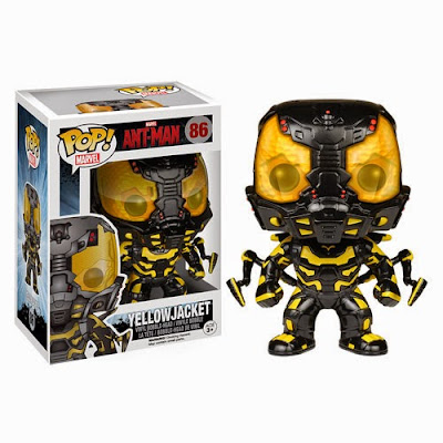 Ant-Man Movie Pop! Marvel Vinyl Figures by Funko - Yellowjacket