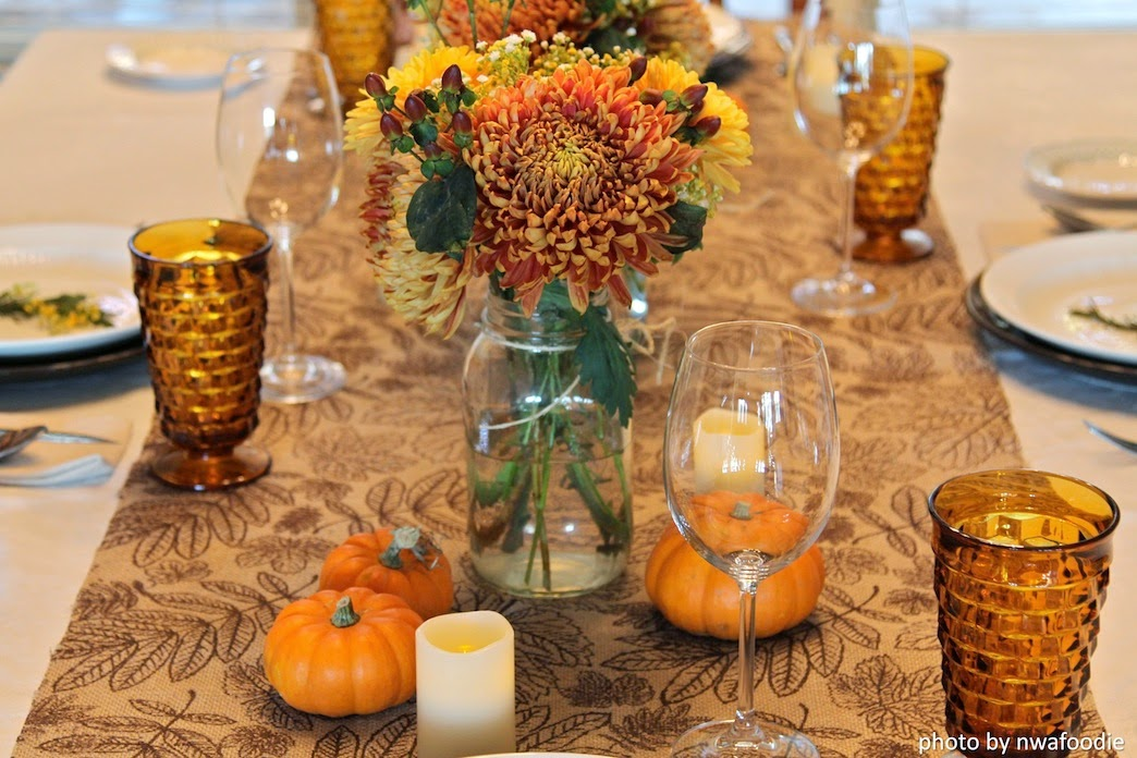 Set Decorate your Thanksgiving table two days earlier (c)nwafoodie RockCityEats