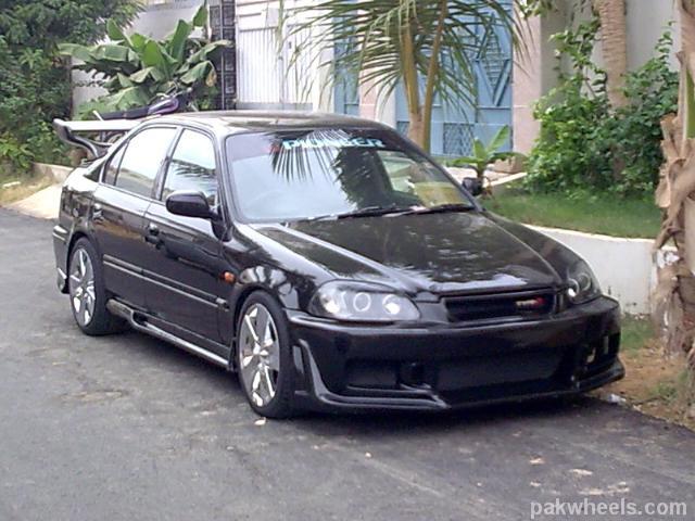 Modified Honda Civic | Car Universe